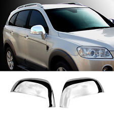 Chrome Side Mirror Cover Molding Garnish Trim for CHEVROLET 2006-2016 Captiva