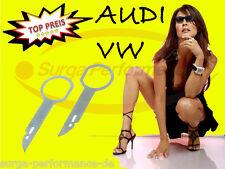Auto-Radio ENTRIEGELUNG passend VW Audi Ford Mercedes Skoda Seat NAVI Schlüssel