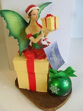 Natasha Faulkner Christmas fairy CANDY SURPRISE figure new with box
