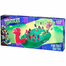Teenage Mutant Ninja Turtles Battle Ball FUOCO Tavolo per Bambini Gioco di tiro
