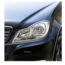 Chrom Rahmen Scheinwerfer Mercedes C-Coupe C204 ab 2011 bis heute
