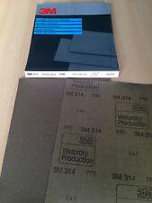 3M -314- Wetordry Schleifpapier 230x280mm P80 (25 Stk.)