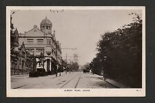 Colne - Albert Road - real photographic postcard