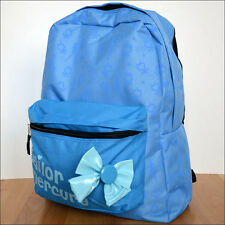 Sailor Moon Mercury Anime Costume Cosplay Blue School Backpack Book Bag LICENSED