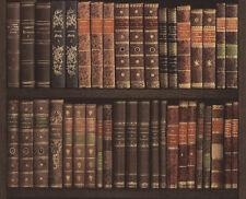 Vlies Tapete rasch CRISPY PAPER 525809 Bibliothek antike Bücher fotorealistisch