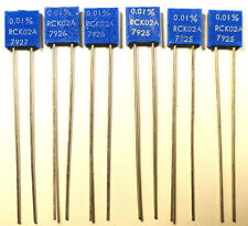 RESISTOR ULTRA-PRECISION 0.01% - 6 LADDER-VALUES - RRC/VISHAY - *UNUSED* - Qty:6