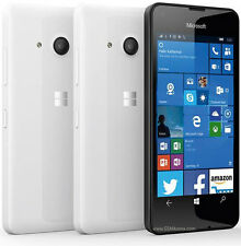 NEW Brand New Microsoft/Nokia Lumia 550 WHITE - Mobile Phone-Unlocked Windows 10