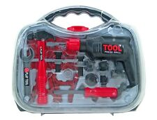 Werkzeugset für Kinder - Werkzeugkoffer Bohrmaschine Spielzeug Werkzeug-Set