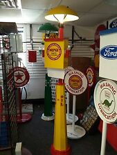 CLASSIC MOPAR PARTS SERVICE  GAS PUMP STATION ISLAND LIGHT WITH TOWEL BOX