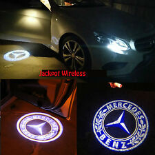 2x LED Door Step Courtesy Shadow Ghost Laser Light For Mercedes Benz US Seller