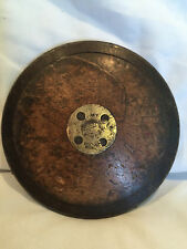 "Collectible Vintage Spalding Wooden Discus 7 3/4"" In Diameter NoY Youths Model"