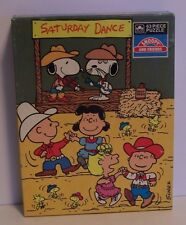 Snoopy Charlie Cowboy Dance Puzzle Spike Woodstock Linus Lucy Sally Peanuts