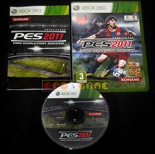 PRO EVOLUTION SOCCER 2011 XBOX 360 Versione Italiana PES 1ª Edizione •• COMPLETO
