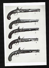 U.S. Martial Flintlock Pistols - 1947 Gun Collector Print