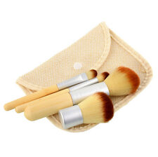4pcs Pro Makeup Cosmetic Blush Brush Foundation Powder Kabuki Brushes Set  DRK#5