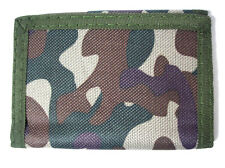 Camouflage 3-fold Boy's Wallet Item 3525