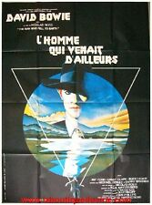 THE MAN WHO FELL TO EARTH Affiche Cinéma Originale / Movie Poster DAVID BOWIE