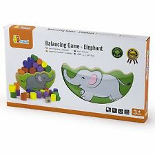 Viga Wooden Stacking and Balancing Game - Elephant