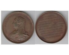 MARIA THERESIA / TERESA 1872 medaille de l'Academie des Arts du Belgique  -med.5