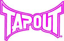 TAPOUT LARGE UFC Decal Sticker Car Truck Windows Any Color
