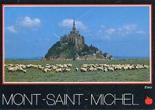 Alte Postkarte - Mont-Saint-Michel