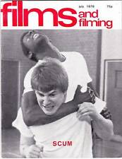 FILMS AND FILMING July 1979 - James Caan & Klaus Kinski interviews