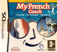 My French Coach Level 1: Learn To Speak French (Nintendo DS, 2007)