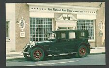 PICTURE POST CARD OF 1920 MERCER LIMO CLASSIC CAR, MINT
