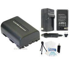 NP-FM50 Battery + Charger + BONUS for Sony DCR-PC330 PC120 PC115 PC110 PC9 PC8