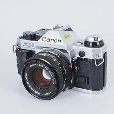 = Canon AE-1 Program 35mm Film SLR with 50mm f1.8 Lens Outfit 6747
