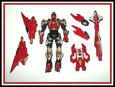"""Power Rangers Ninja Storm:  Crimson """"Turbo Tri Battlized"""" Ranger _ ** Must See *"""