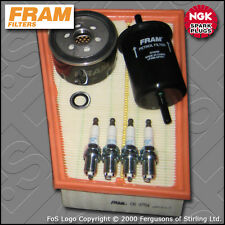 SERVICE KIT RENAULT MEGANE II 1.6 16V FRAM OIL AIR FUEL FILTER PLUGS (2002-2009)