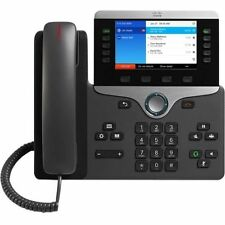 NEW CISCO 8841 IP VoIP PHONE CP-8841-K9 + AC ADAPTER WITH CORD INCLUDED COMPLETE