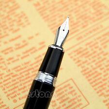 Cadeaux New Black Jinhao 159 Et Argent M Fontaine Nib Pen épaisse de Nice