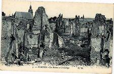 CPA Verdun-Les Ruines et le Collége (187428)