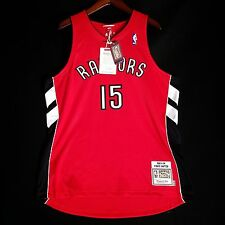 100% Authentic Vince Carter Mitchell Ness 03 04 Raptors away Jersey Size 48 XL