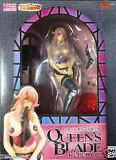 New Megahouse Queen\\\'s Blade Rebellion Excellent Model Siggy Black PAINTED