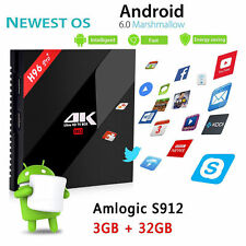 Newest H96 PRO+ 3G+32G Android6.0 Amlogic S912 BT4.0 HDMI OTA Double Wifi Tv Box