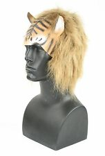Cat Lion Tiger Headpiece Cats Soft Rubber Costume Mask