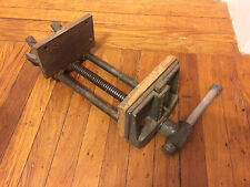 "WILTON under-counter vise - marked ""W-9-63 - Very heavy"