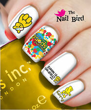 Nail Art Nail Decals Nail Transfers  - PUDSEY BEAR BBC CHILDREN IN NEED CHARITY