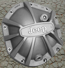 DANA 44 Xtreme Differential Cover with Jeep Logo Sandblast