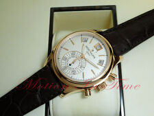 Patek Philippe 5960R White in Rose Gold Complication Annual Calendar Chronograph