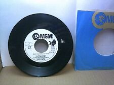 Old 45 RPM Record - MGM M 14807 - Donny & Marie Osmond - Make the World Go Away
