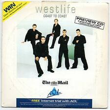 Westlife - Coast To Coast (Preview CD) 4 Tracks + 2 Videos for PC @@LOOK@@