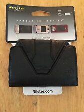 NITEIZE EHLS-03-17 BLACK SIDEWAYS CLIP HOLSTER SIZE SMALL