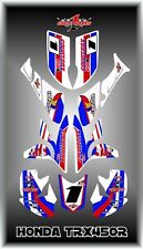 HONDA TRX450R TRX 450R FOURTRAX  SEMI CUSTOM GRAPHICS KIT RETRO 88