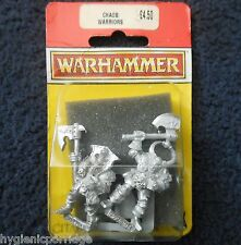 1994 chaos warrior B1 games workshop citadel warhammer armée mal fighter mib gw