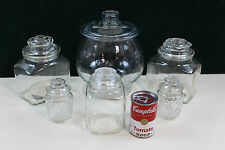 Glass  Apothecary Canister Wedding Buffet Shower Party Candy Bar Jar Lot  #11