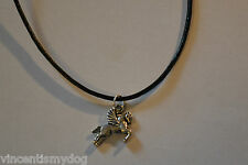 NEW * FLYING HORSE NECKLACE PENDANT in GIFT BAG *